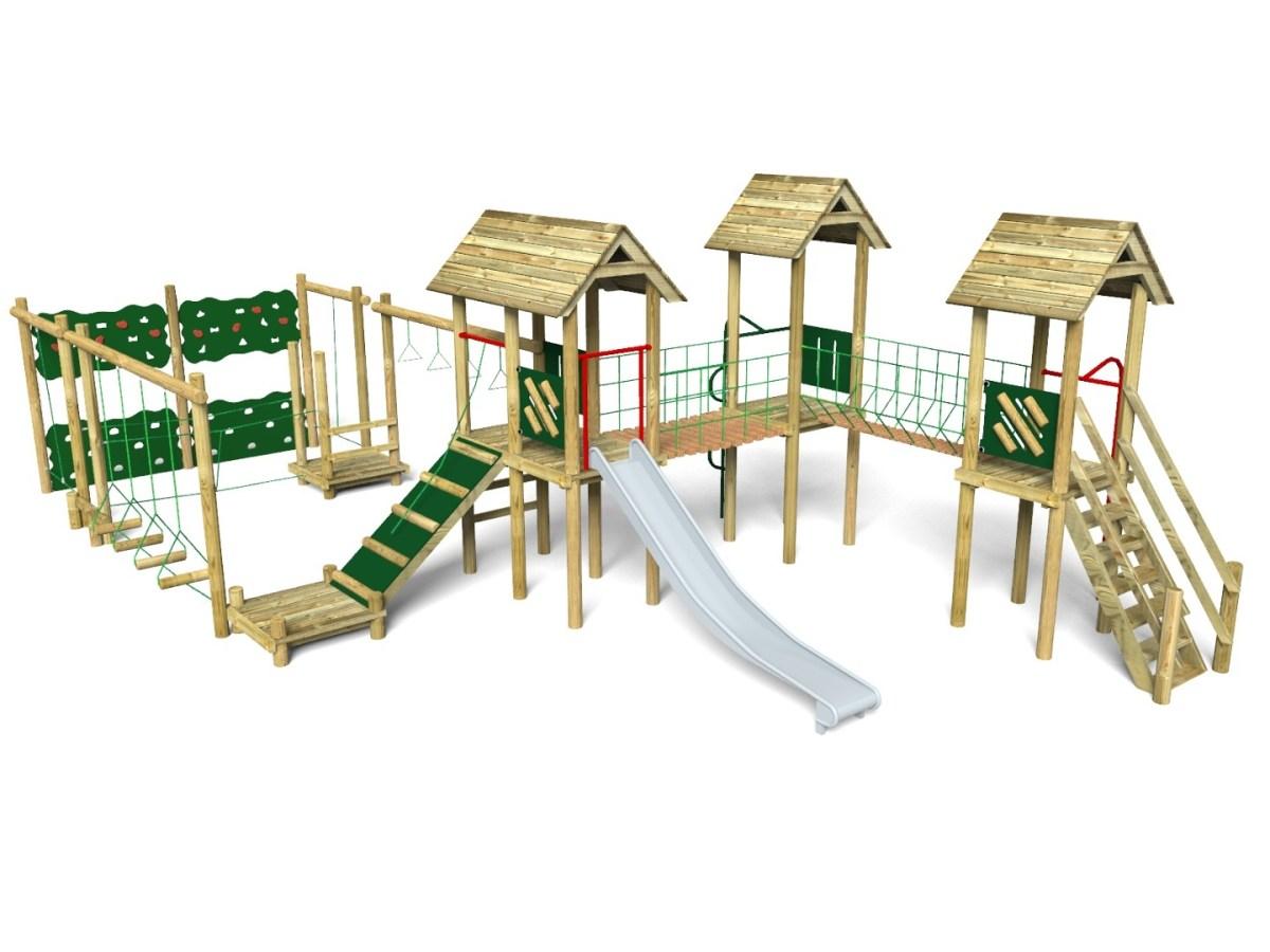 Litcham 5 Play Tower