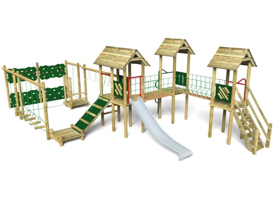 Litcham 5 Play Tower