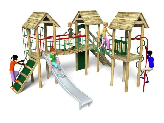 Litcham 6 Play Tower