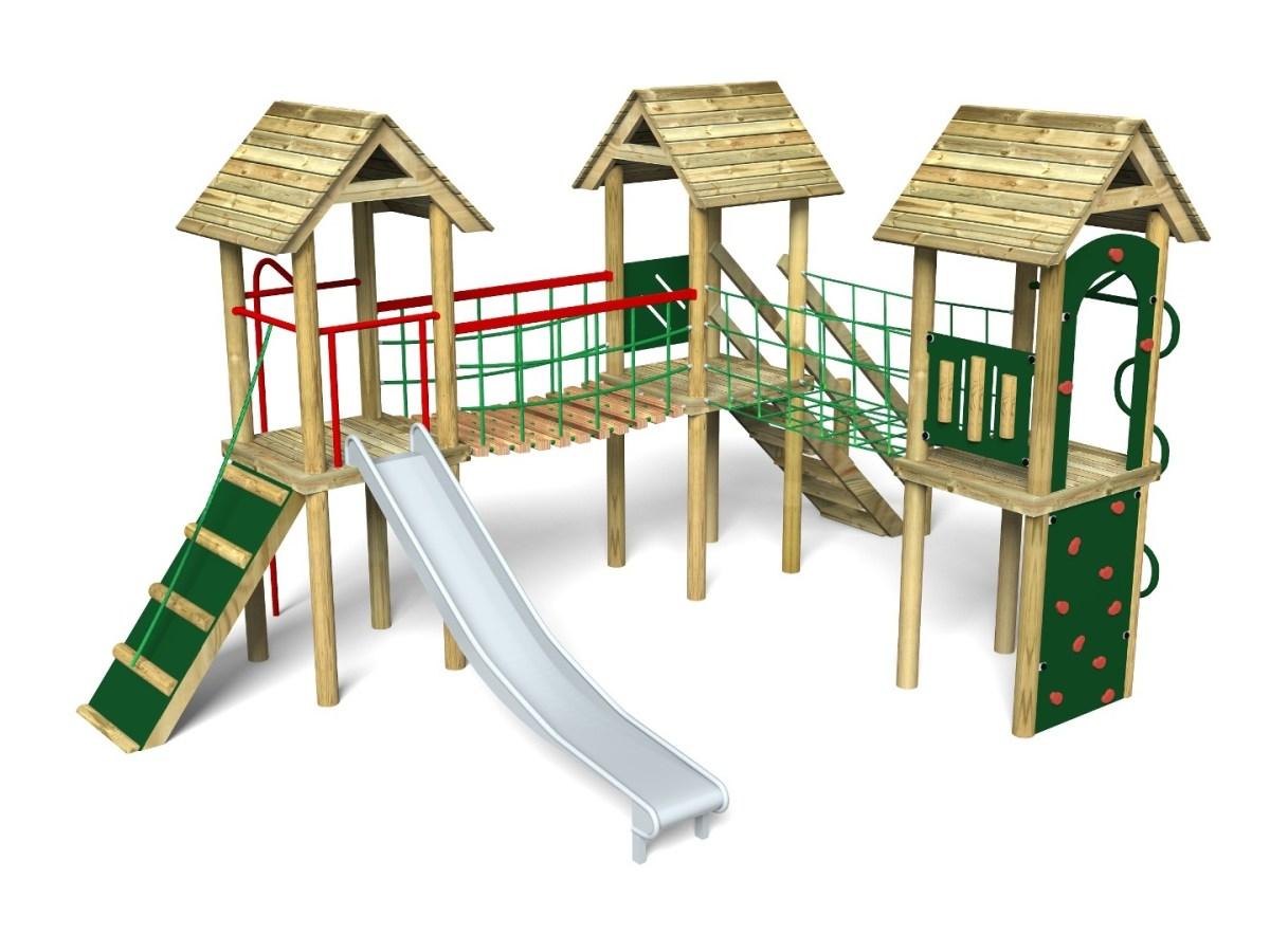 Litcham 8 Play Tower