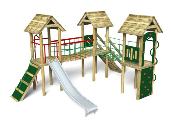 Litcham 8 Play Tower