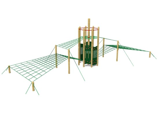 Rope Sky Tower 3 Climber