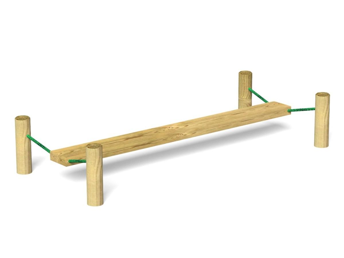 Suspended Wobble Board