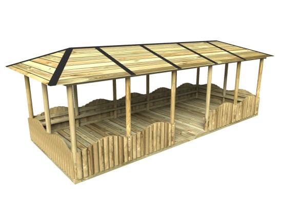 Brook Timber Shelter
