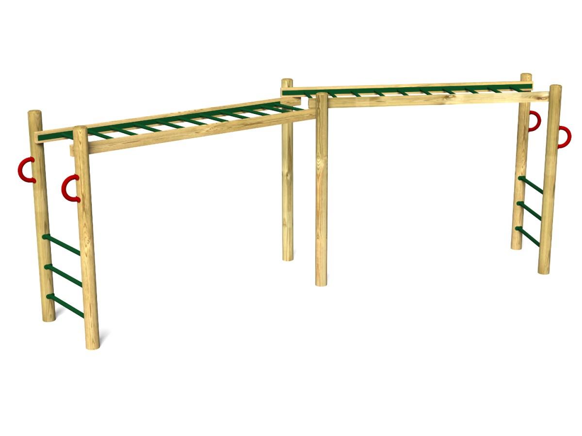 Double Horizontal Ladder