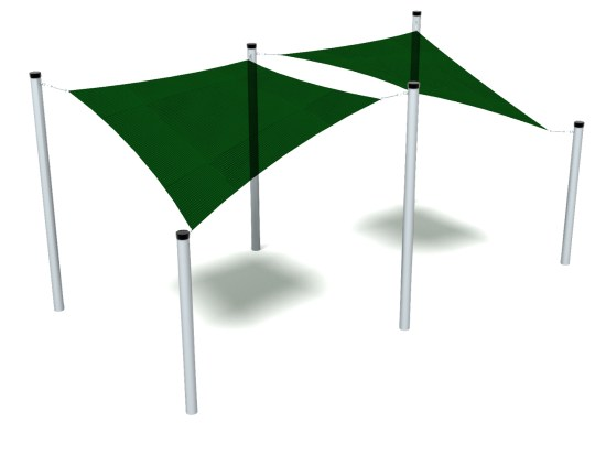 Double Sail Shade