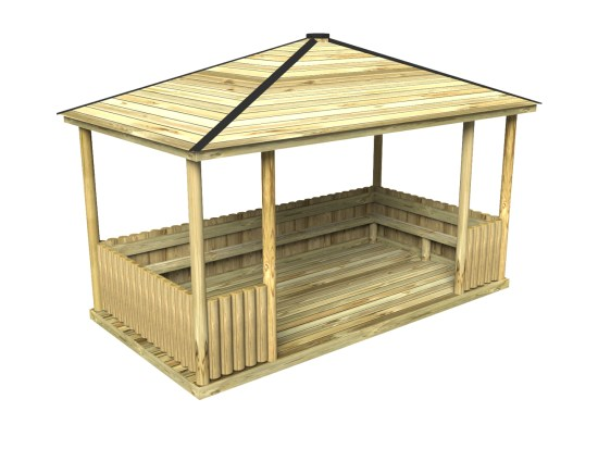 Rectangular Shelter