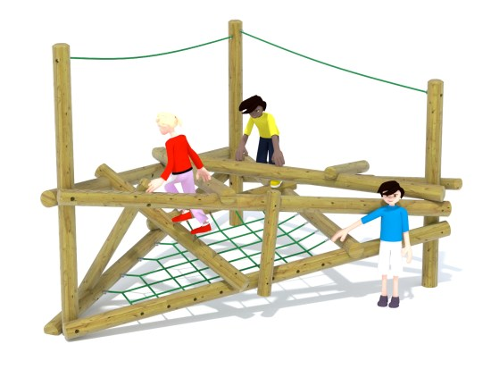 Forest Stack 2 Climbing Frame