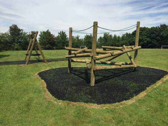 FA Forest Stack 2 Climbing Frame & a Nest Swing