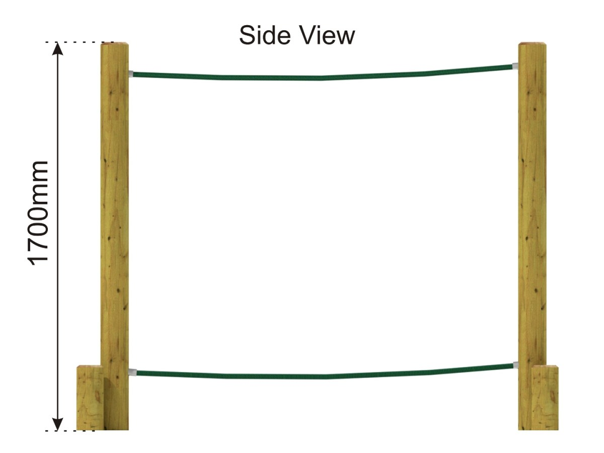 Parallel Ropes side view
