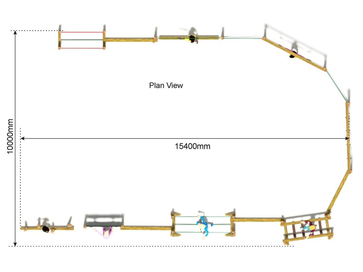 Combi 26 Trim Trail plan view
