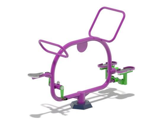 Bicycle and Stepper