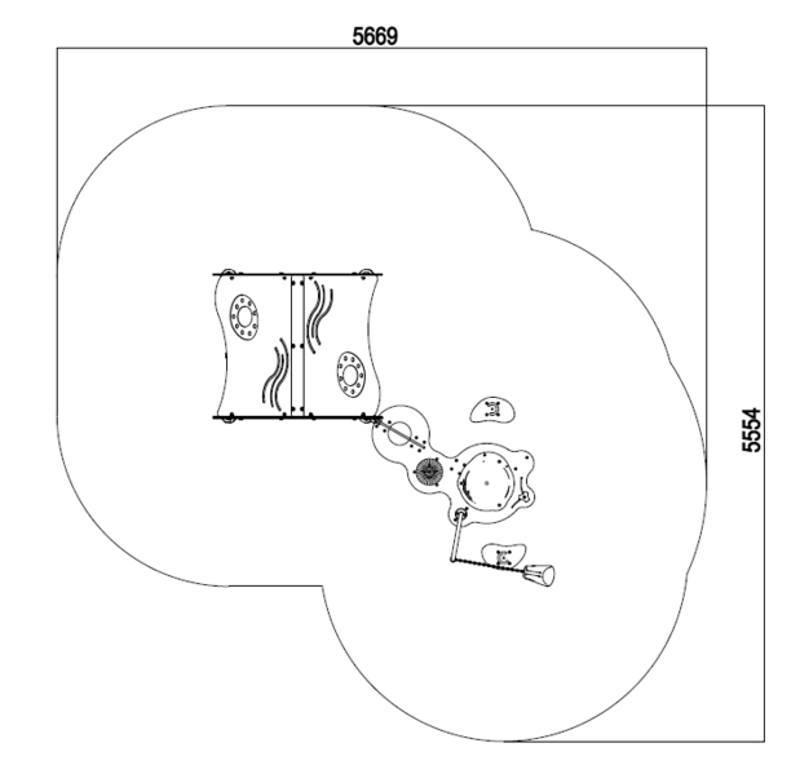 Playhouse Aquatic plan view