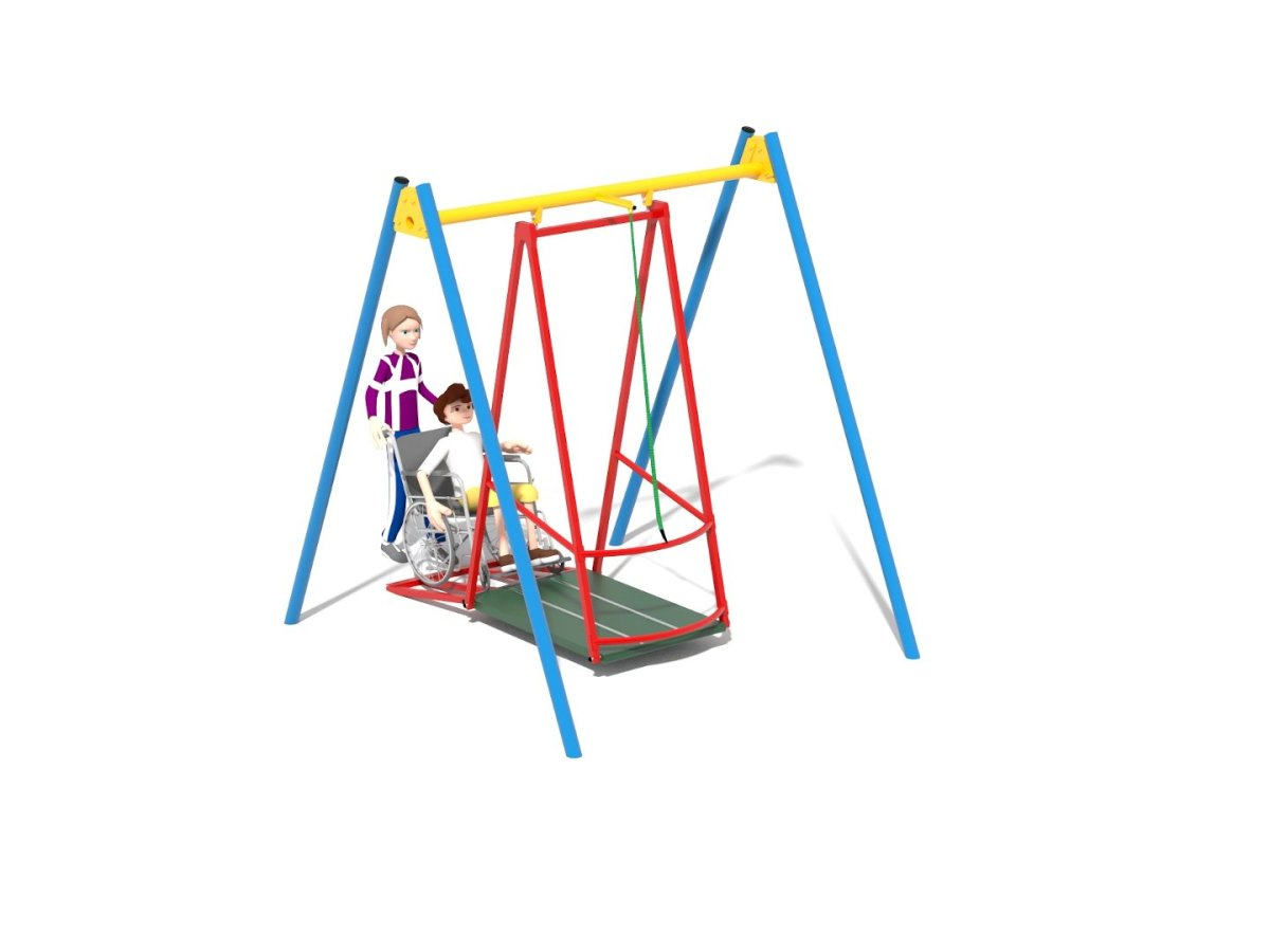 Wheelchair swing 15