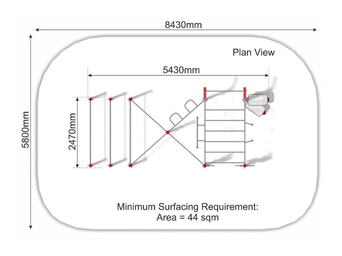 Street Workout Callisthenics – Set 5 plan view