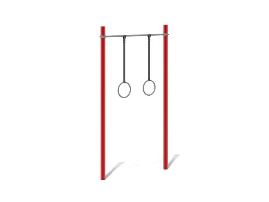 Gymnastic Rings on Steel Frame