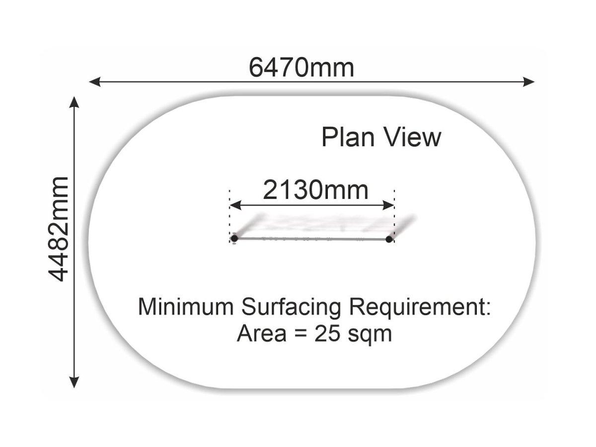 Net Wall (steel frame) plan view