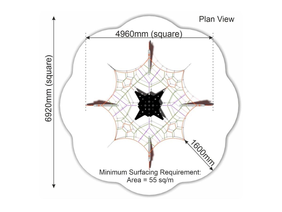 Levitator 4 plan view