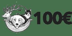 100 euros ( Adhérent Bienfaiteur )
