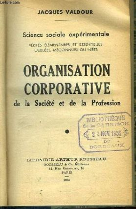 Organisation corporative