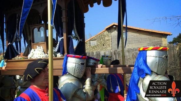 chevaliers au palanquin