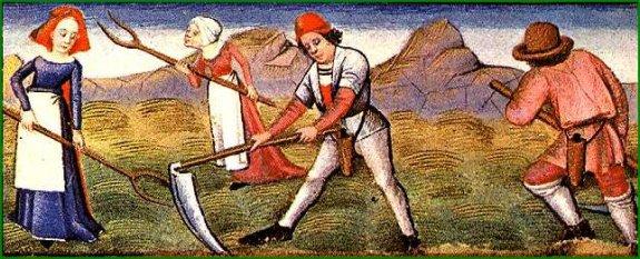 Serf au Moyen âge