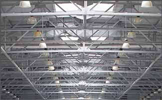High Bay and Low Bay Application - Education Center - Action Services Group