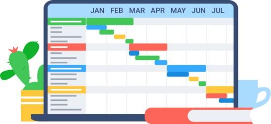 Contoh project timeline - Rencana Matang Masa Depan