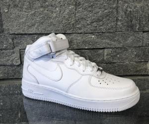 Adidasi Nike Air Force Mid Alb 315123-111