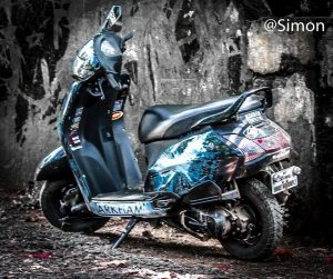 Modified Honda Activa, Customised Honda Activa 3g, 125 & Activa I