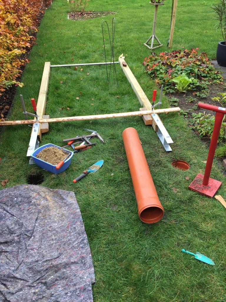 Häufig Klimmzugstange für den Garten (DIY) - Activate-the-Beast ZJ72