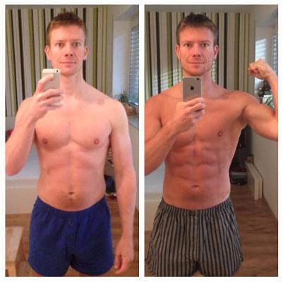 Michael Fettwech 73 Kilo
