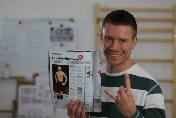 Michael Fettwech Homann in der Men's Health September 2015 Ausgabe
