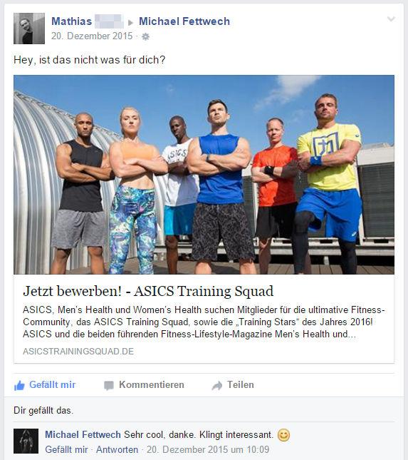ASICS-Training-Squad-Bewerbung