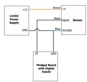 Photoelectric Proximity Sensor 10m