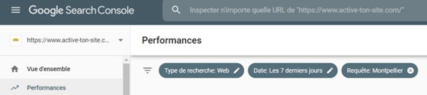 suivre le référencement local avec search console