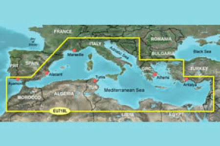 mediterranean sea and surrounding countries map » Full HD MAPS ...