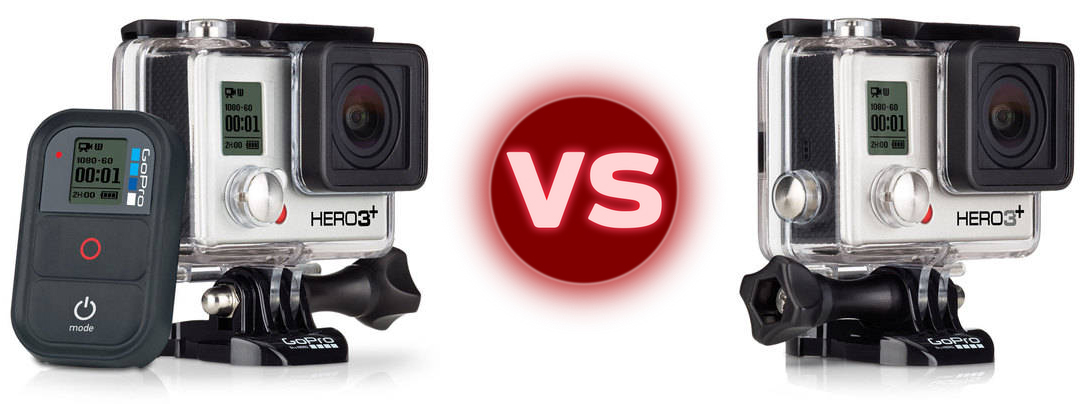 difference between gopro hero 3 black and silver hd. Black Bedroom Furniture Sets. Home Design Ideas