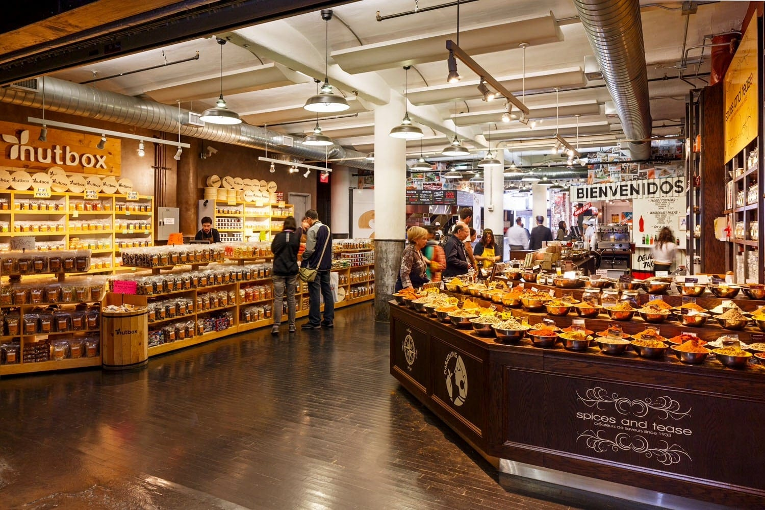 Chelsea Market Inside View, NYC