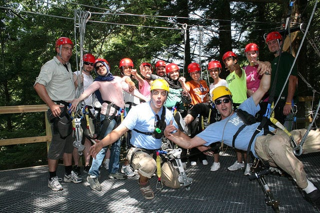 Hunter Mountain Ziplining