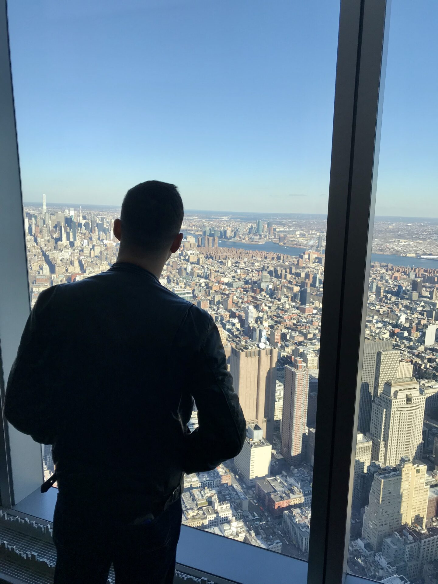 Freedom Tower 100th floor observatory view