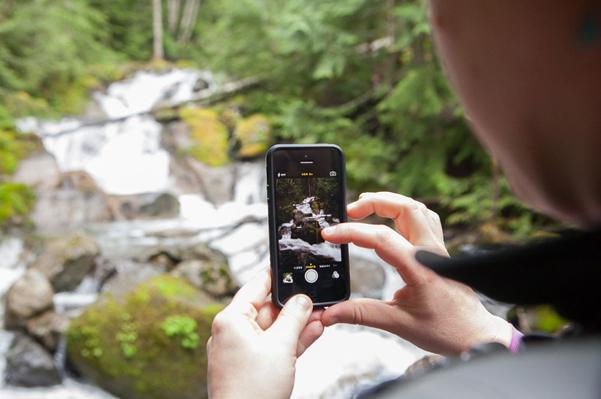Northwest waterfall hike