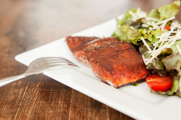 Cocoa Salmon recipe