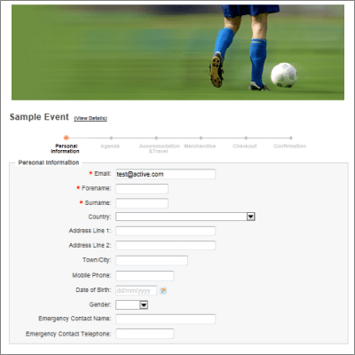 Registration Form Template Word upcoming event seminar conference – Customer Registration Form Template
