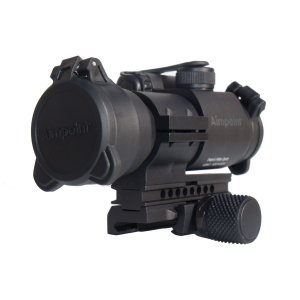 The Aimpoint PRO, my (Greg's) top choice for red dot optic. Around $400 with mount included.