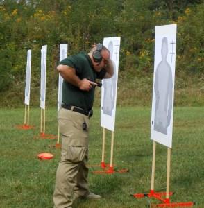 Live fire retention shooting
