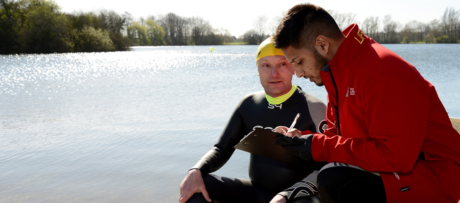 RLSS UK Open Water Lifeguard Qualification (3 Day Course) Wild shore Delamere , Northwich , Cheshire