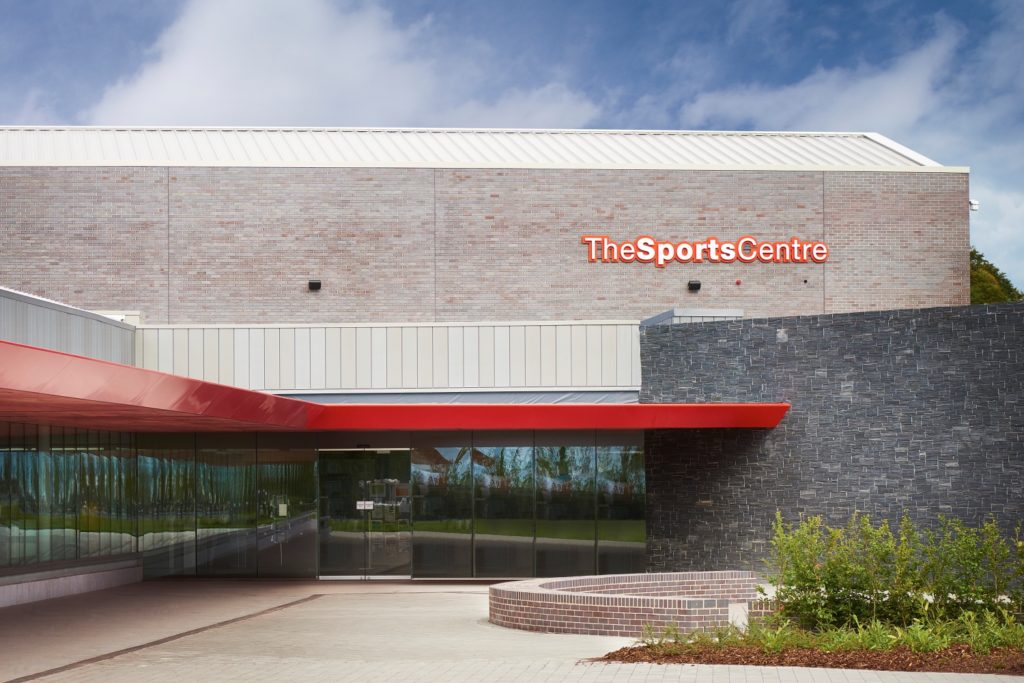 Edge Hill University – The Sports Centre, Ormskirk , Lancashire