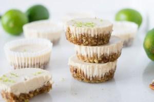 vegan lime cheesecake