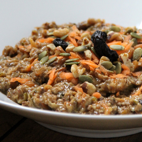 Slow Cooker Morning Glory Oatmeal